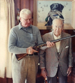 John Olin (on right)